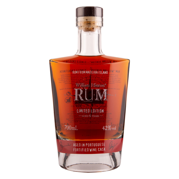 William Hinton Rum - Aged in Portugese fortified wine cask